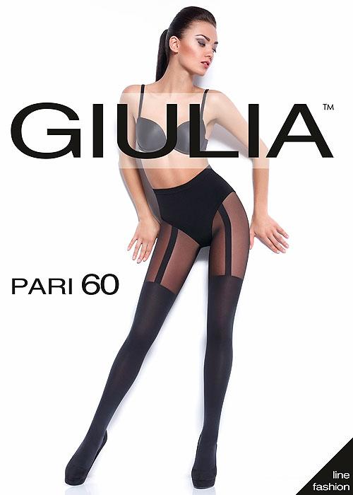 Giulia Pari 60 Mock Suspender Tights