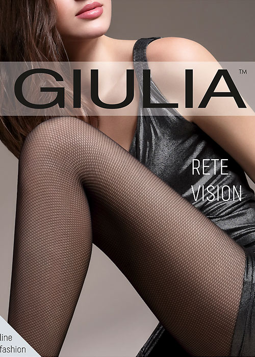 Giulia Rete Vision Mock Fishnet Tights