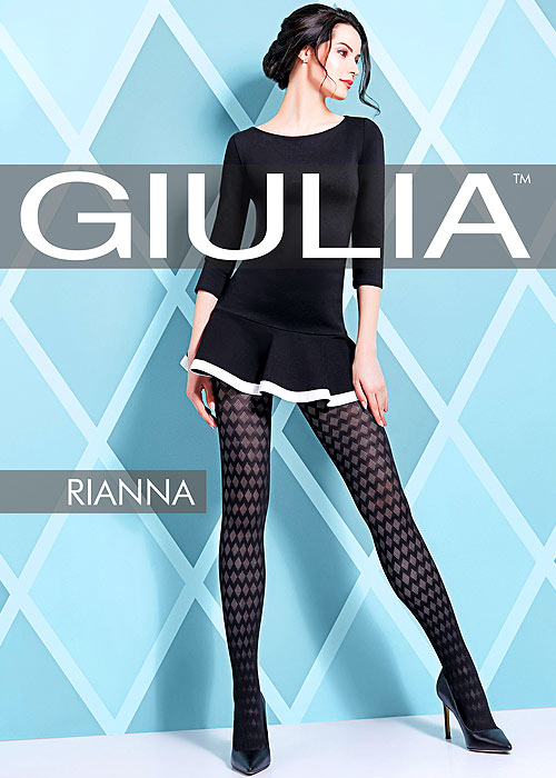 1960s Tights, Stockings, Panty Hose, Knee High Socks Giulia Rianna 60 Fashion Tights N.8 £10.99 AT vintagedancer.com