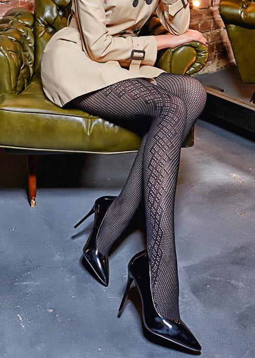 Giulia Saty Rete 100 Fashion Tights N.7