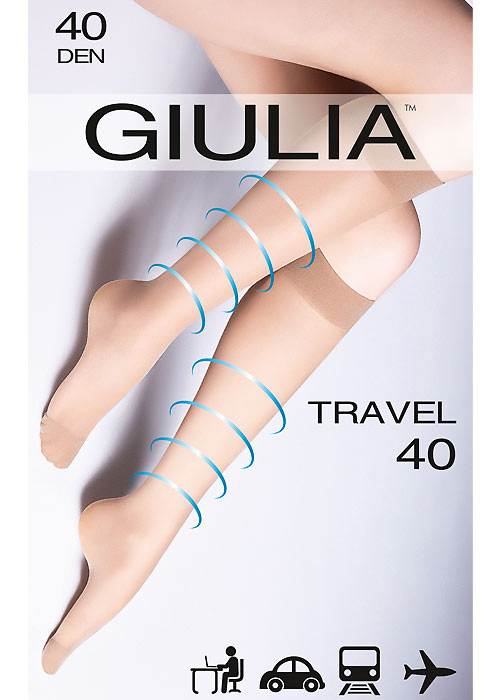 6383fce0682 Giulia Travel 40 Knee Highs In Stock At UK Tights