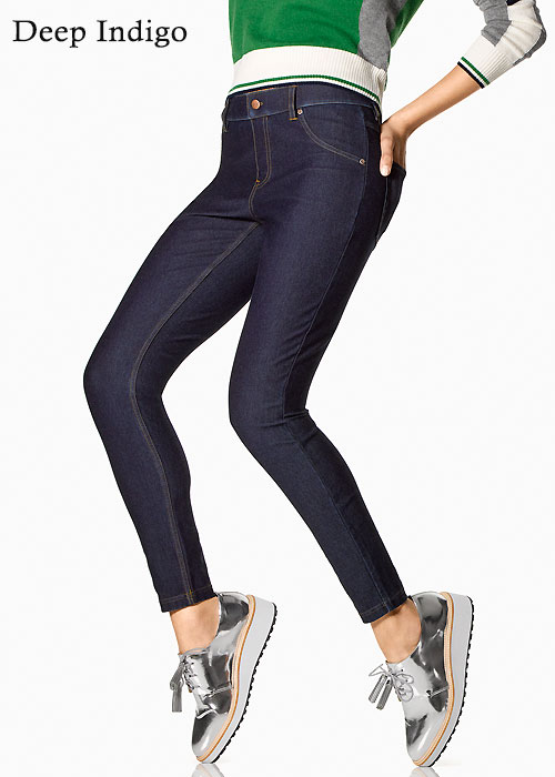 a0a5a44a1db87 Hue Essential Denim Leggings In Stock At UK Tights