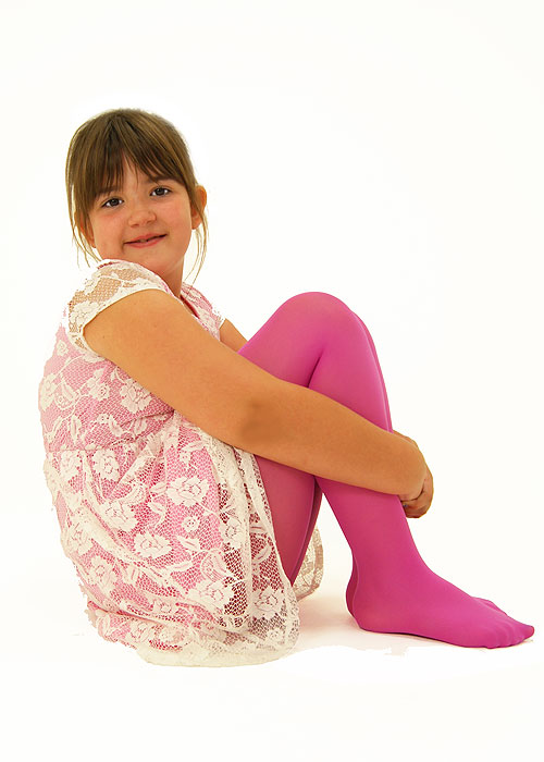 Hu Childrens Feeling Coloured Tights Pantyhose Outfit