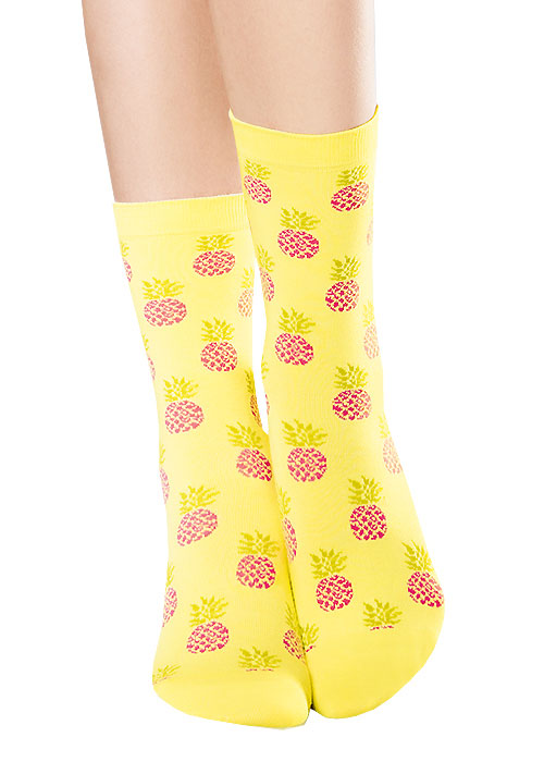 Hudson Sweet Pineapple Cotton Socks