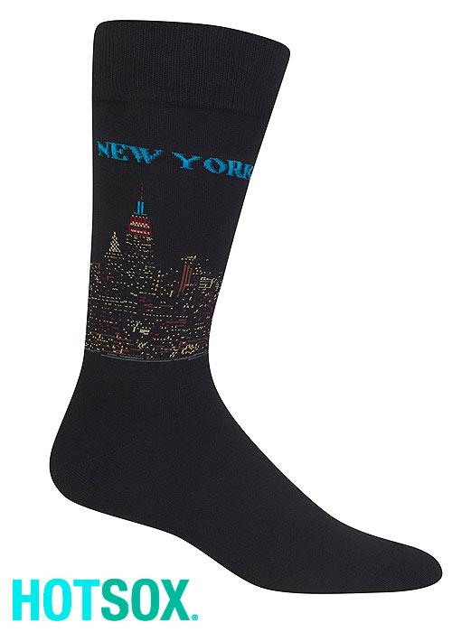 Hotsox Mens New York Socks