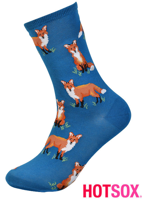 Hotsox Womens Foxes Socks