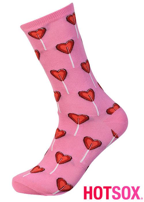 Hotsox Womens Valentine Heart Socks
