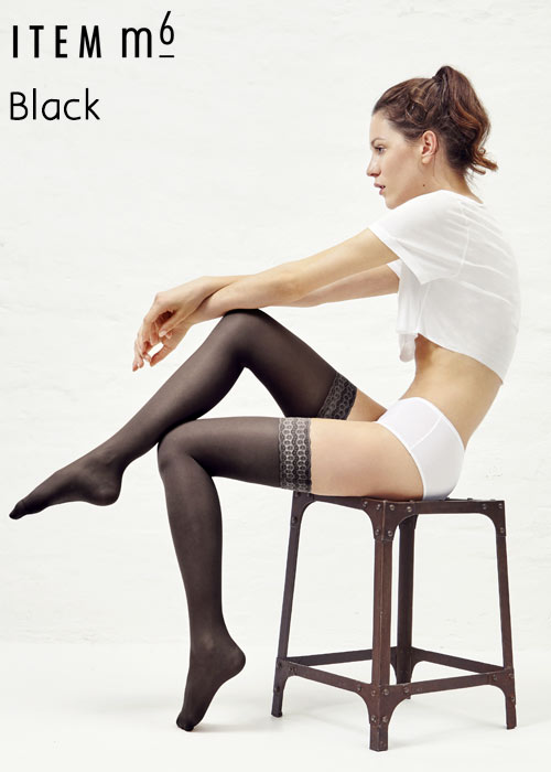 ITEM m6 Women Super Smooth 50 Denier Hold Ups