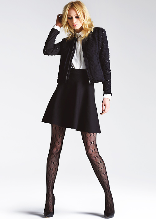 Jonathan Aston Cascade Fishnet Tights