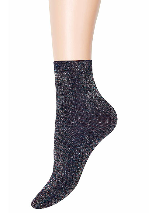 Jonathan Aston Multi Coloured Lurex Anklet