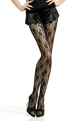 Jonathan Aston Sweet Roses, The Standard In Floral Tights