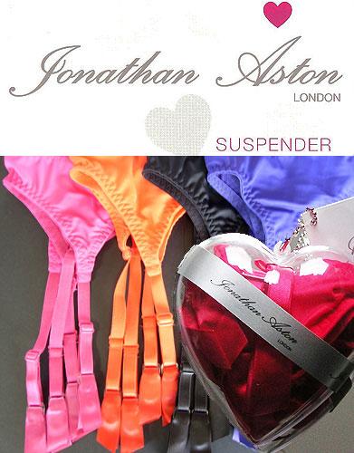 Jonathan Aston Suspender Belt Heart