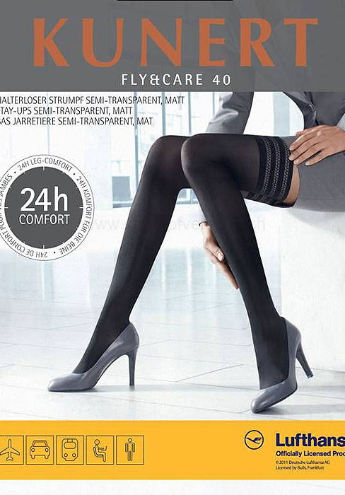 Kunert Fly And Care 40 Denier Hold Ups