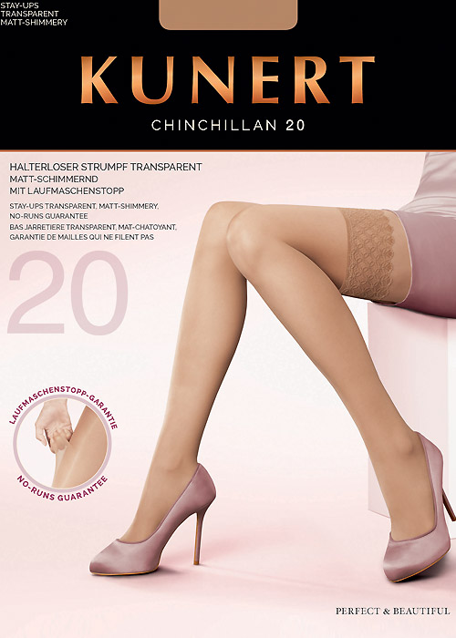 Kunert Chinchillan 20 New Lace Hold Ups