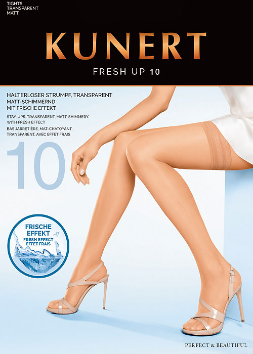 Kunert Fresh Up 10 New Lace Hold Ups