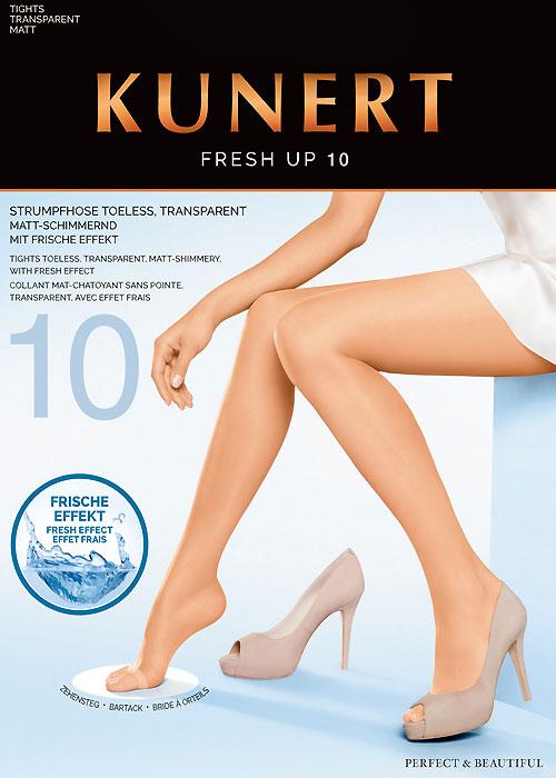 Kunert Fresh Up 10 Toeless Tights