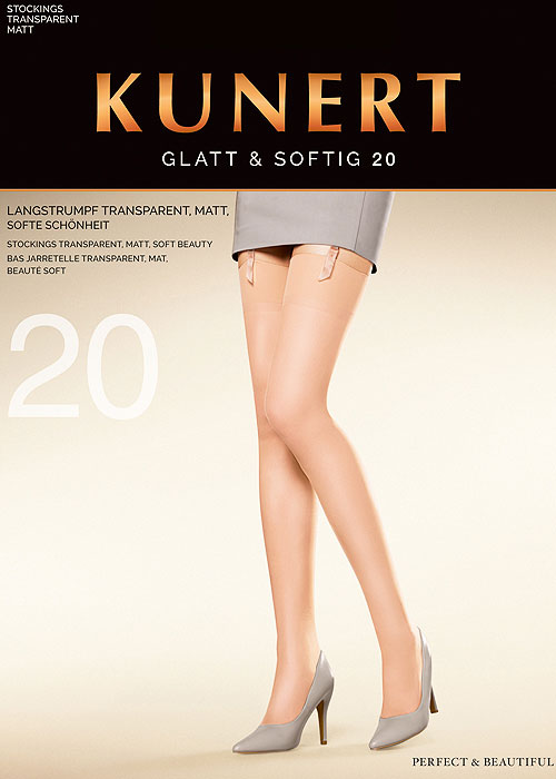 Kunert Glatt and Softig 20 Stockings