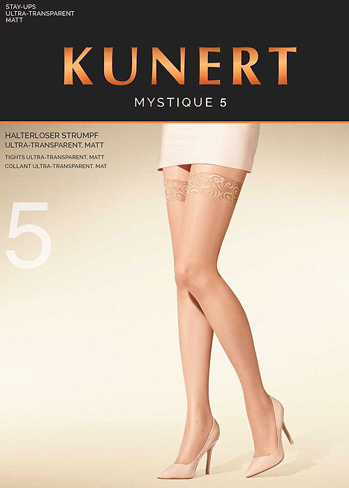 Kunert Mystique 5 Lace Top Hold Ups