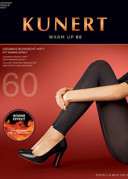Kunert Warm Up Opaque Footless Tights