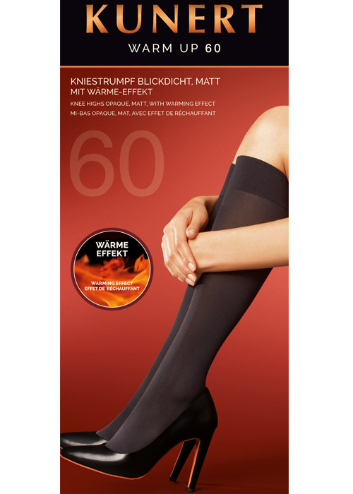 Kunert Warm Up Opaque Knee Highs
