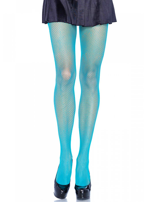Leg Avenue Nylon Fishnet Coloured Tights
