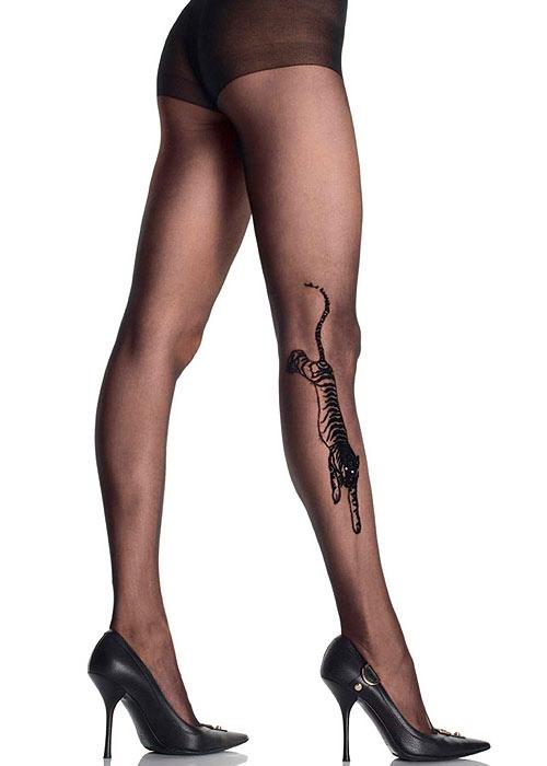 Leg Avenue Tiger Tattoo Tights