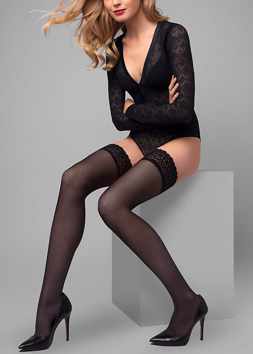 Le Bourget Allure Dentelle Grace Hold Ups