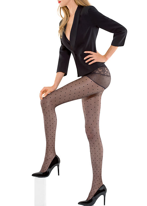 730cedb4823 Le Bourget Allure Dentelle Romance Tights In Stock At UK Tights