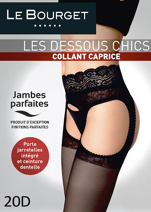 9cdb8dae039 £20.99  Le Bourget Caprice Suspender Tights