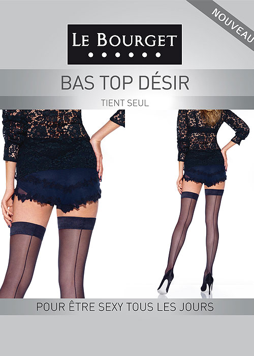 Le Bourget Desir Backseamed Hold Ups