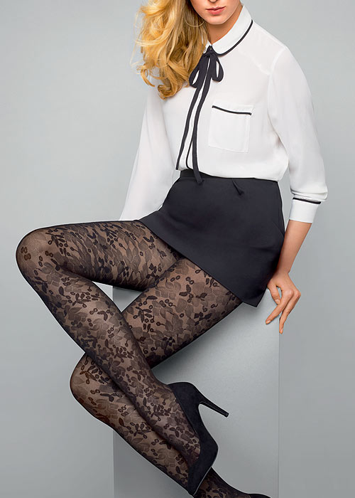 Le Bourget Heritage Dentelle Tights