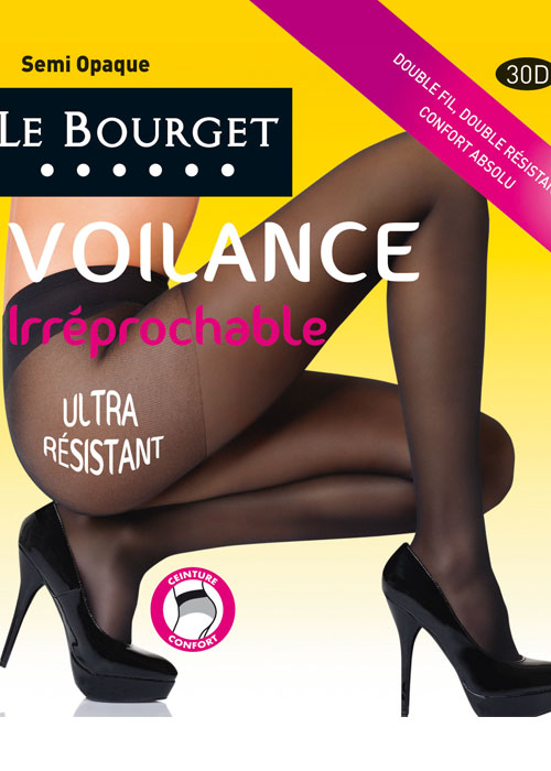 Le Bourget Irreprochable 30 Semi Opaque Tights