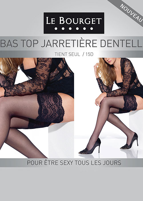 Le Bourget Jarretiere Dentelle Hold Ups