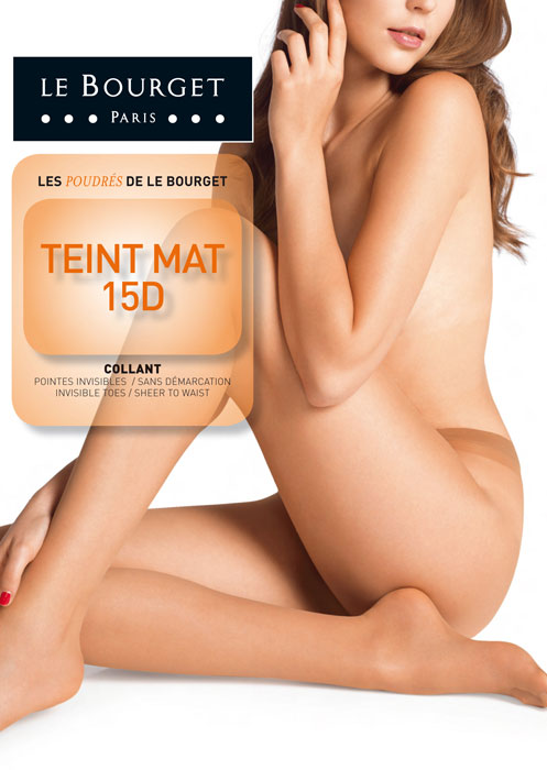 Le Bourget Teint Mat 15D Tights