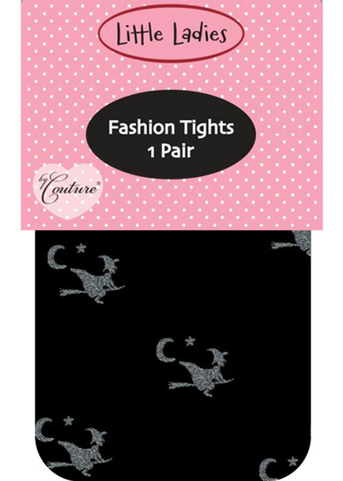 Couture Little Ladies Witches Childrens Tights