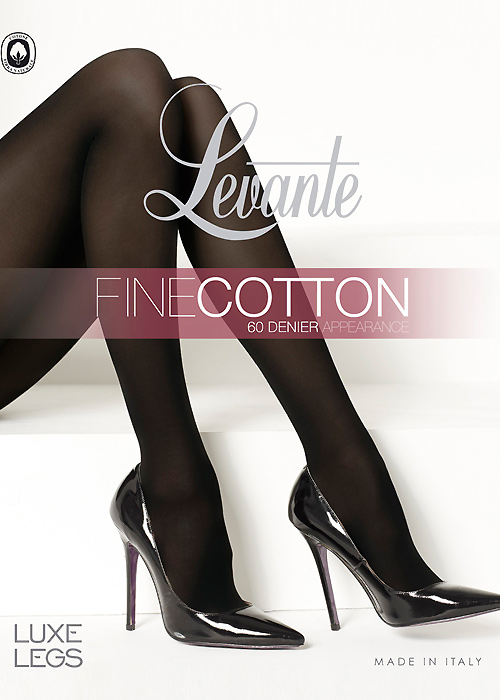 Levante Fine Cotton 60 Denier Tights