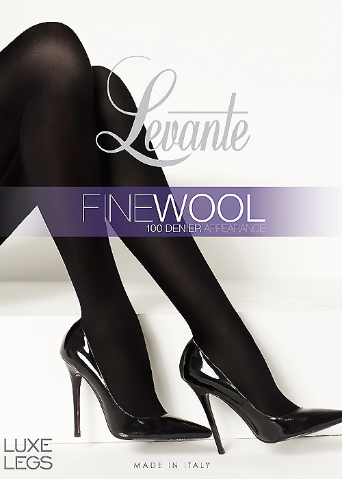Levante Luxe Legs Fine Wool 100 Denier Tights