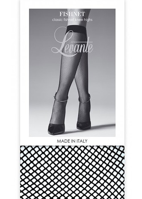 e7a5c818d Levante Fishnet Knee Highs In Stock At UK Tights