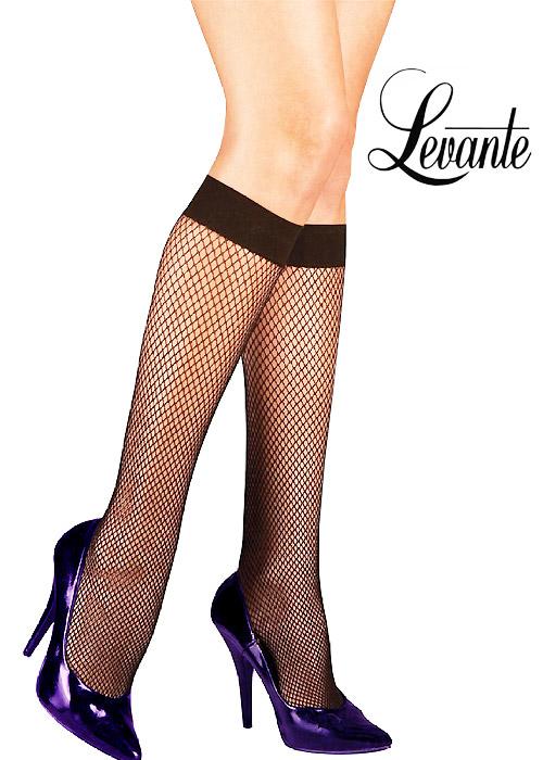 Levante Fishnet Knee Highs