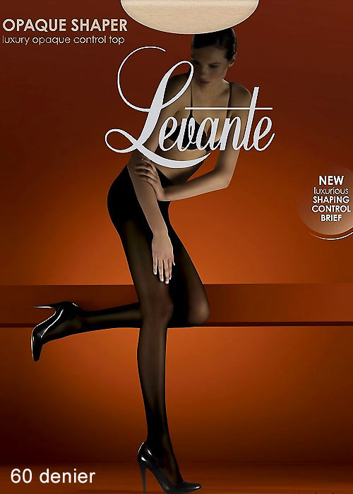 Levante Opaque Shaper Control Top Tights