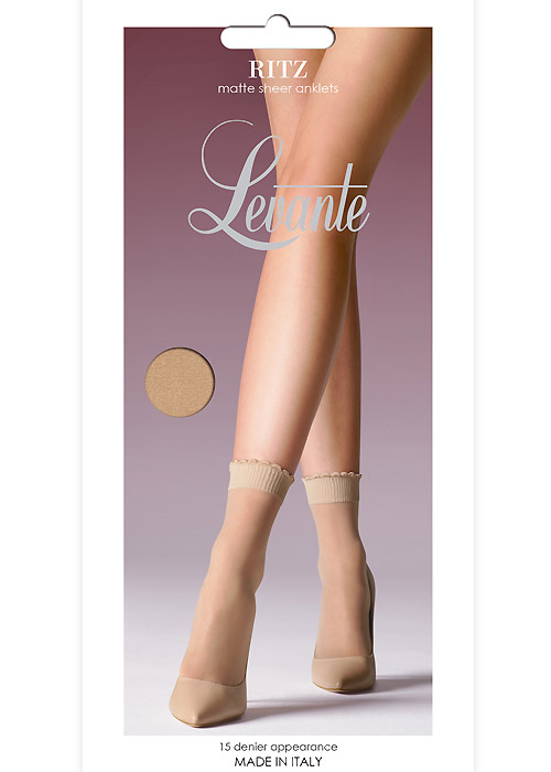 Levante Ritz Matt Sheer Anklet