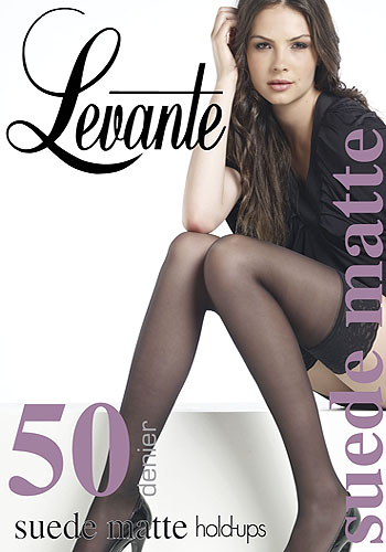 Levante Suede Matte 50 Hold Ups