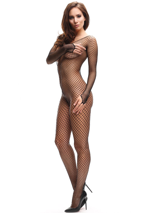 Miss O Net Bodystocking