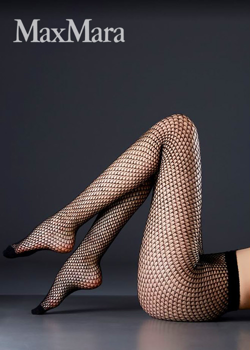 Max Mara Calais Fishnet Tights