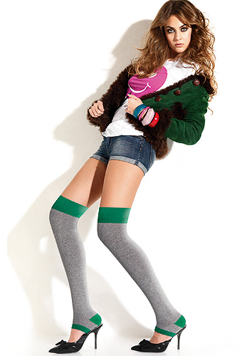Miss Oroblu Street Over The Knee Socks
