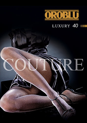 Oroblu Couture Luxury 40 Lurex Tights