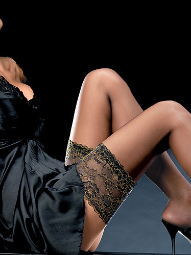 Oroblu Couture Gold Up 10 Hold Ups