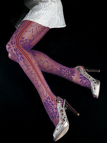 Oroblu Megane Fashion Tights :  coloured tights megane oroblu stockings