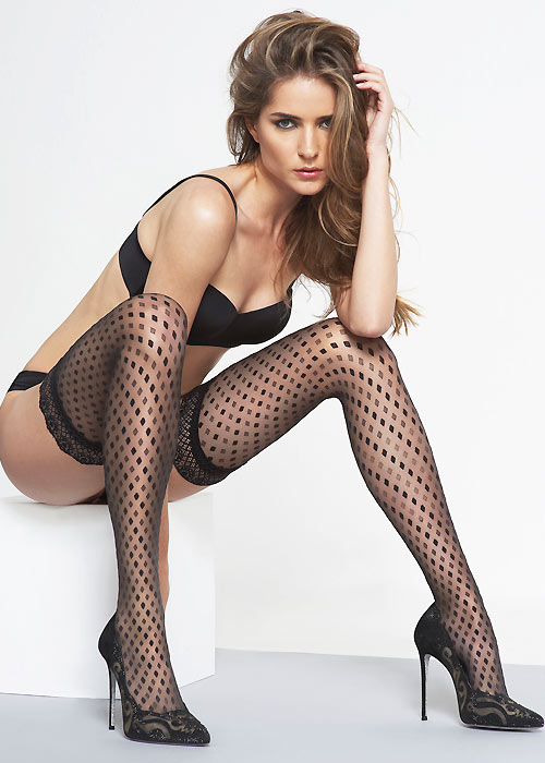11e68d49a23 Oroblu Adeline Hold Ups In Stock At UK Tights