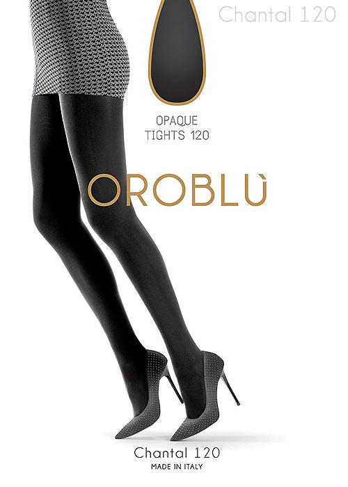 Oroblu Chantal 120 Denier Opaque Tights